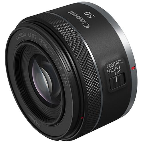 Canon RF 50mm f/1.8 STM Lens Black Friday Deal
