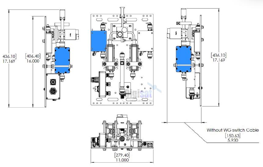Norsat RSW LNB Redundant Switching System