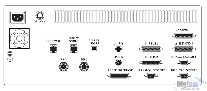 Radeus 8200 Satellite Antenna Control System (Touchscreen)