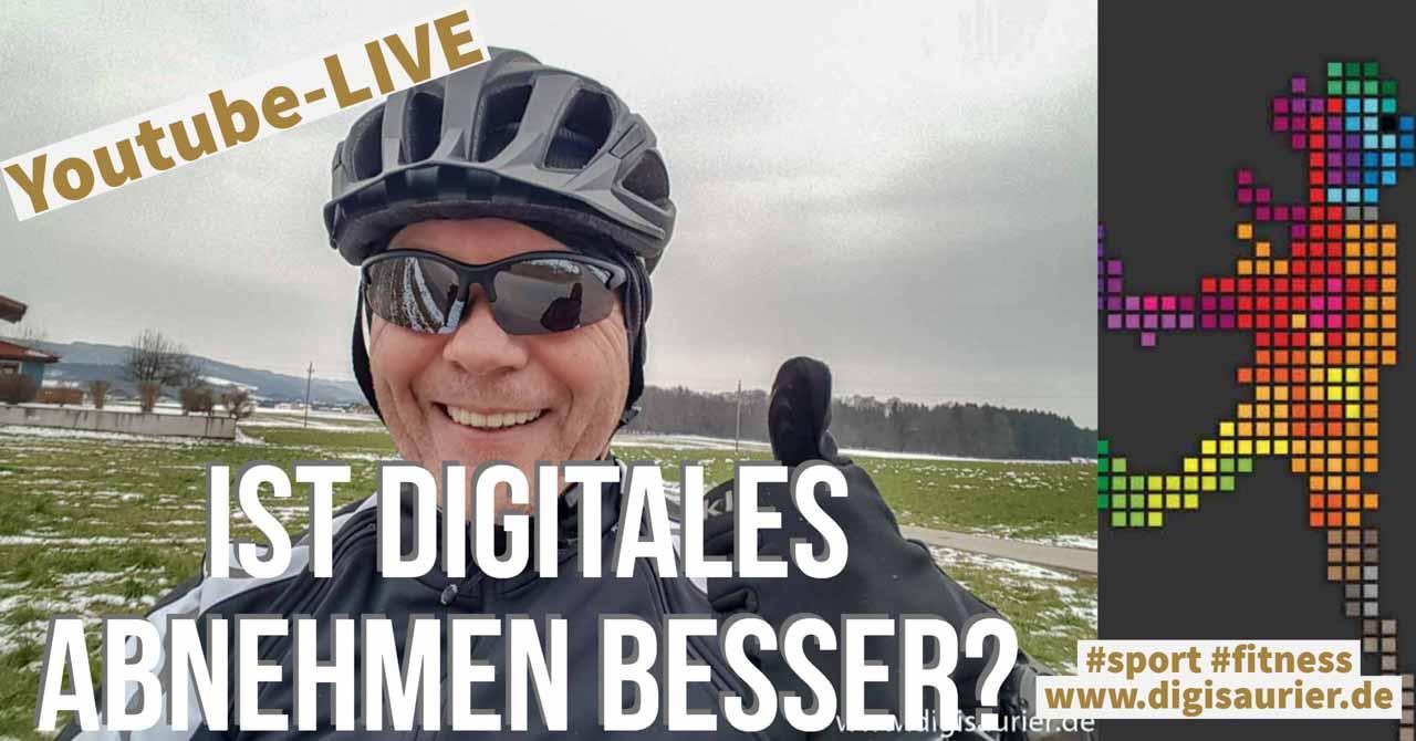 Abnehmen mit digitaler Technik – klappt das besser? Livesendung