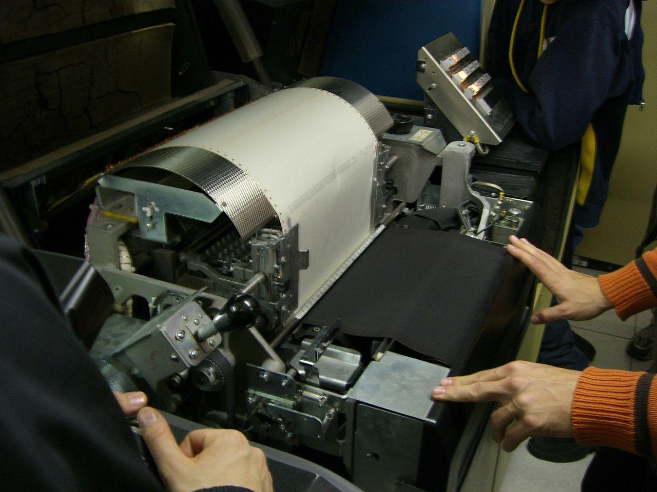 Kleine Weltgeschichte des Computerdruckers (1): Von Typen und Nadeln