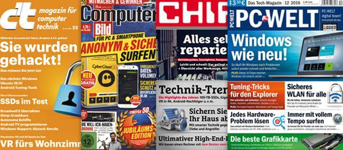 Kleine Weltgeschichte der deutschen Computerzeitschriften