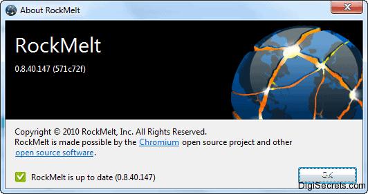 About RockMelt Version 8