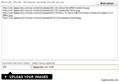 GalleryHosted File Upload