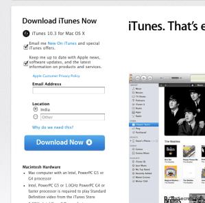 iTunes 10.3
