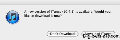 iTunes 10.4.1