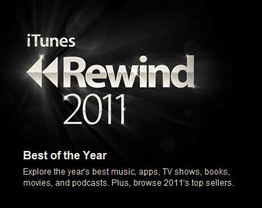 App of the year - iTunes Rewind 2011