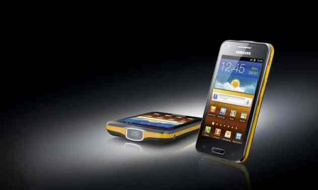Samsung Galaxy Beam Projector Phone
