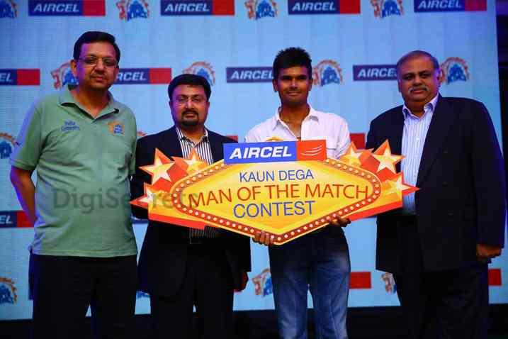 Aircel-CSK Kaun Dega Man of the Match Award