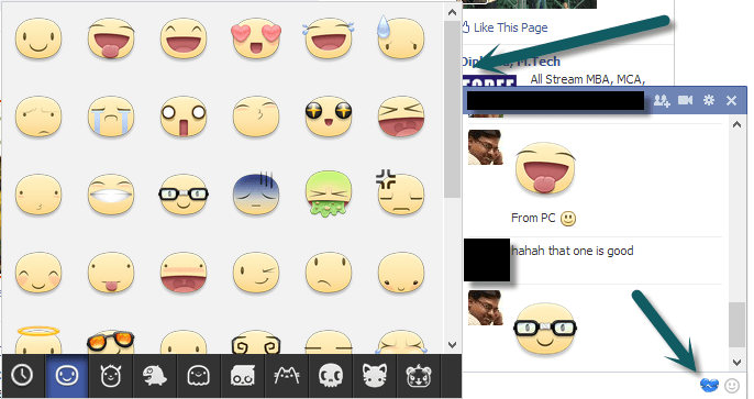 Facebook Chat Stickers - PC - Mac - Desktop - Chrome