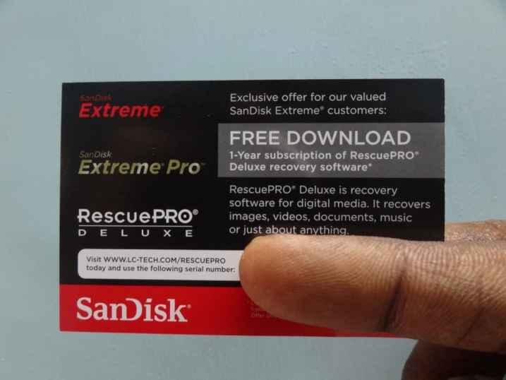 SanDisk Extreme SDHC (3)