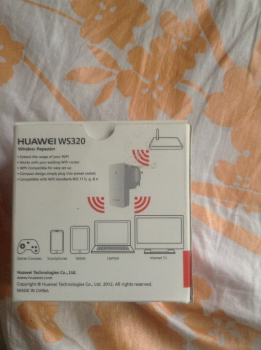 Huawei WS320 WiFi Repeater  Booster (2)