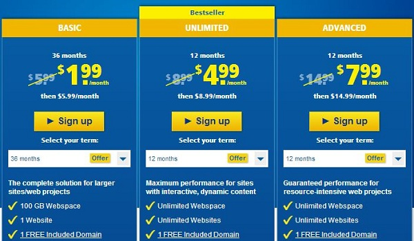 1-and-1-web-hosting-pricing