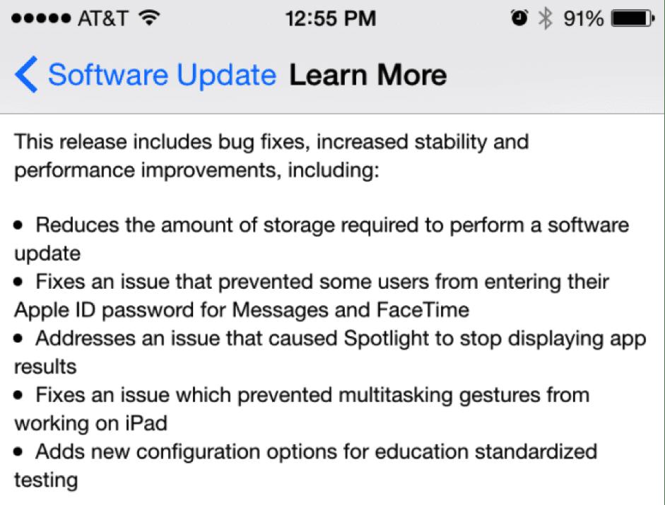 iOS 8.1.4
