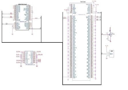 Buy Electrical schematic of the adapter mini PCI-E to x16