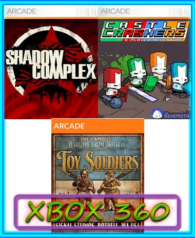 Buy Toy SoldiersCastle CrashersShadow ComplexXBOX 360 And Download