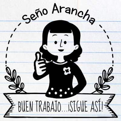 Sello maestra Arancha