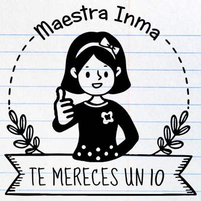 Sello maestra Inma