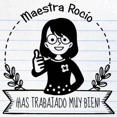 Sello maestra Rocío