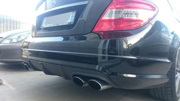 Reprogrammation Mercedes C63