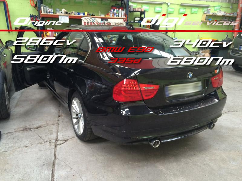 BMW 335d 286 E90