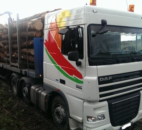 Daf XF105 460 Digiservices Normandie