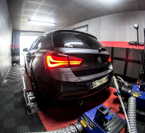 Reprogrammation moteur BMW M140i Rouen 340 à 403cv et 597Nm