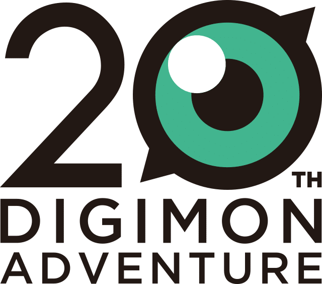 Digimon 20th logo