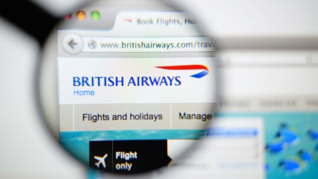 British Airways IT Failure Caused Online Outage