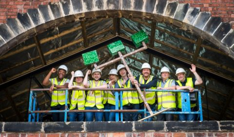 Shed 25 Topping Out Water's Edge Dundee
