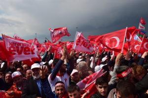 Turkish crowd