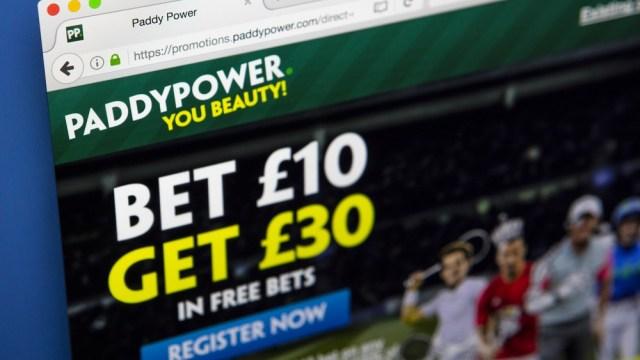 Paddy Power Betfair Website