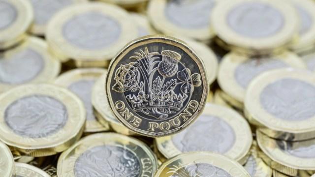 Scottish pound coins