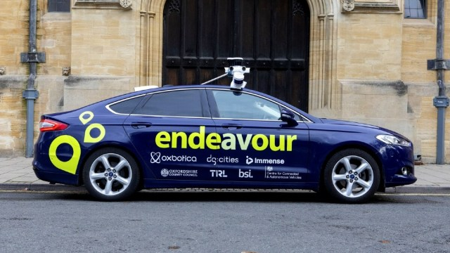 Project Endeavour autonomous vehicles