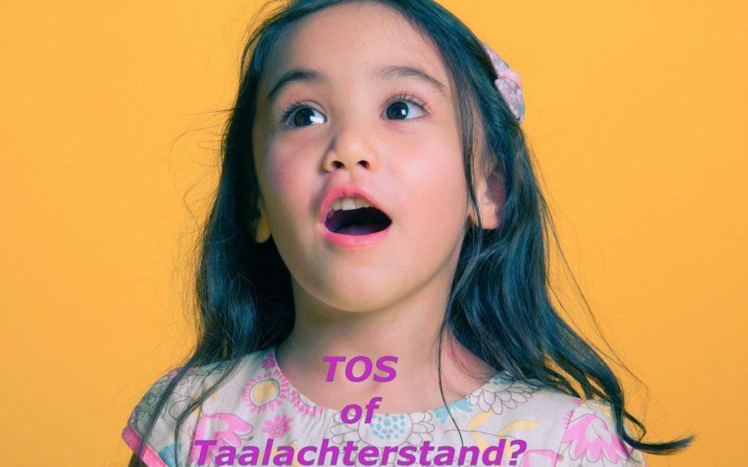 Wat is eigenlijk het verschil tussen een TOS en een taalachterstand?