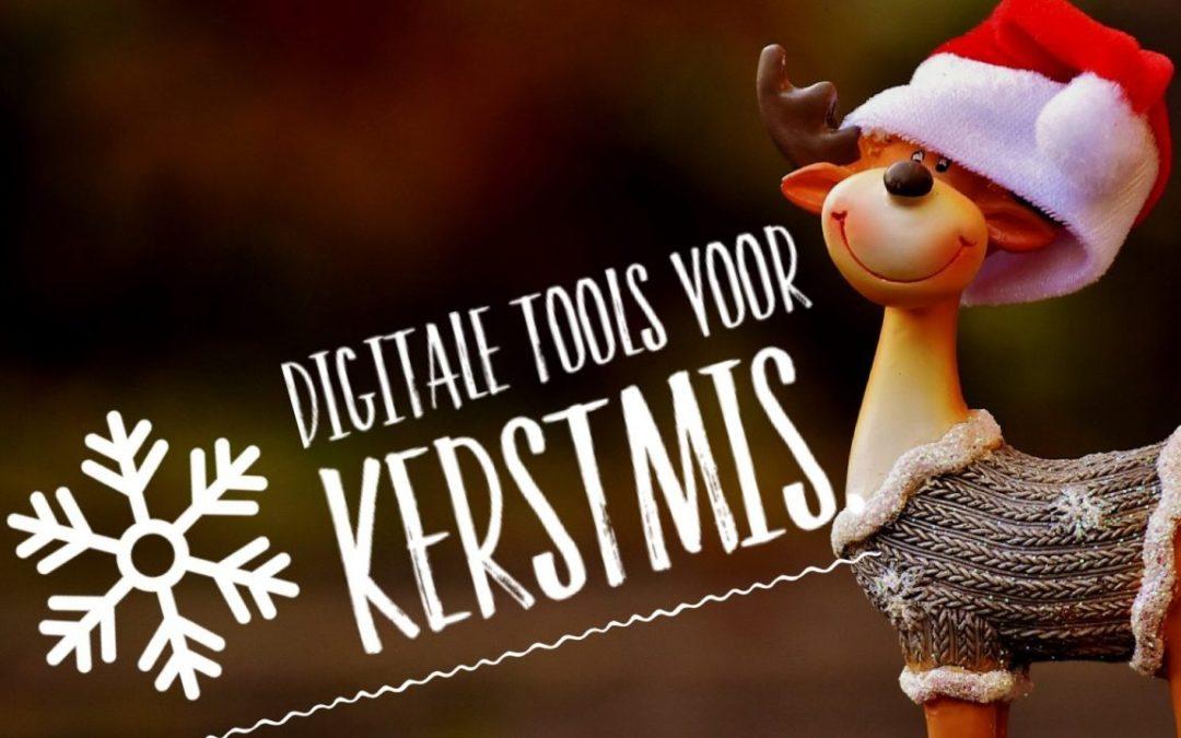 10 digitale tools voor Kerstmis