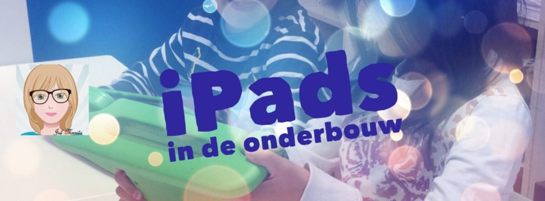 workshop tablets in de onderbouw