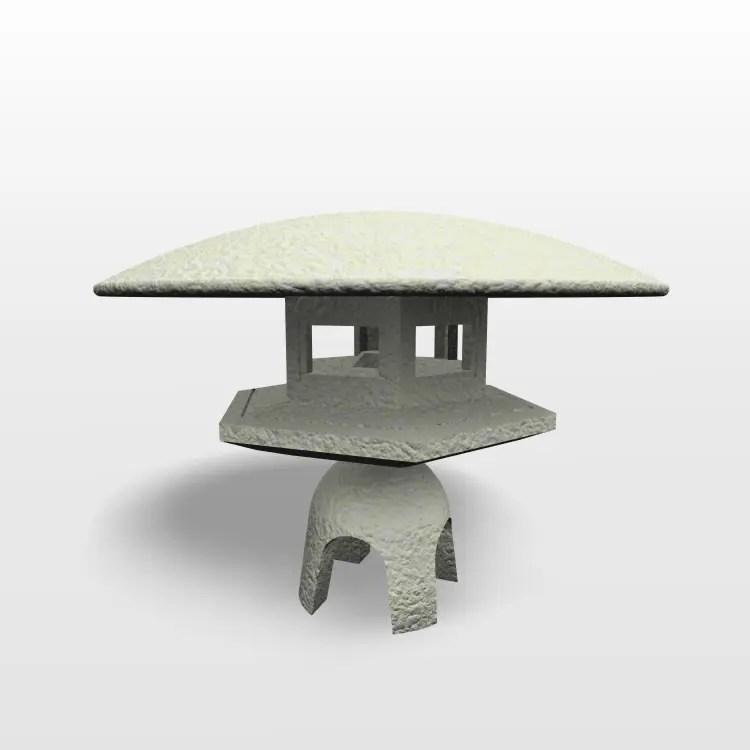 formZ 3D エクステリア 和風 灯篭