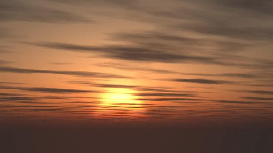 フリーデータ,2D,CG,背景画像,空,夕暮れ,雲,夕焼け,夕陽,太陽,sky,clouds,sunset