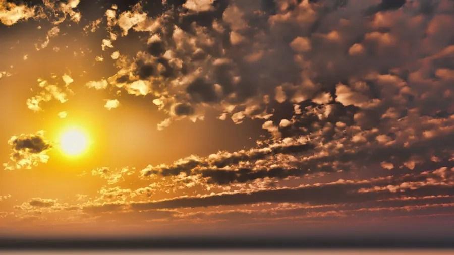 CAD,フリーデータ,2D,CG,背景画像,空,雲,夕陽,夕焼け,夕暮れ