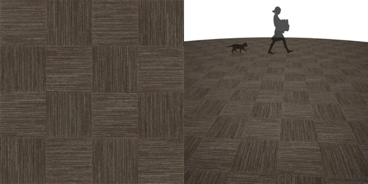 タイルカーペットのシームレステクスチャー丨床材 市松張り丨無料 商用可能 フリー素材 フリーデータ丨サンゲツ NT803
