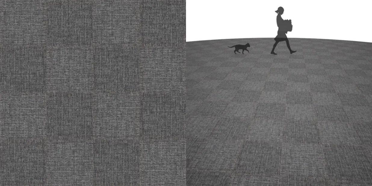 タイルカーペットのシームレステクスチャー丨床材 市松張り丨無料 商用可能 フリー素材 フリーデータ丨サンゲツ NT841