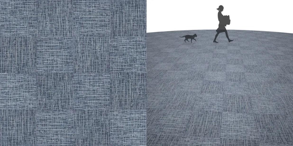 タイルカーペットのシームレステクスチャー丨床材 市松張り丨無料 商用可能 フリー素材 フリーデータ丨サンゲツ NT878