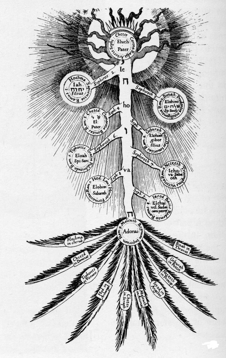hight resolution of fludd tree of life