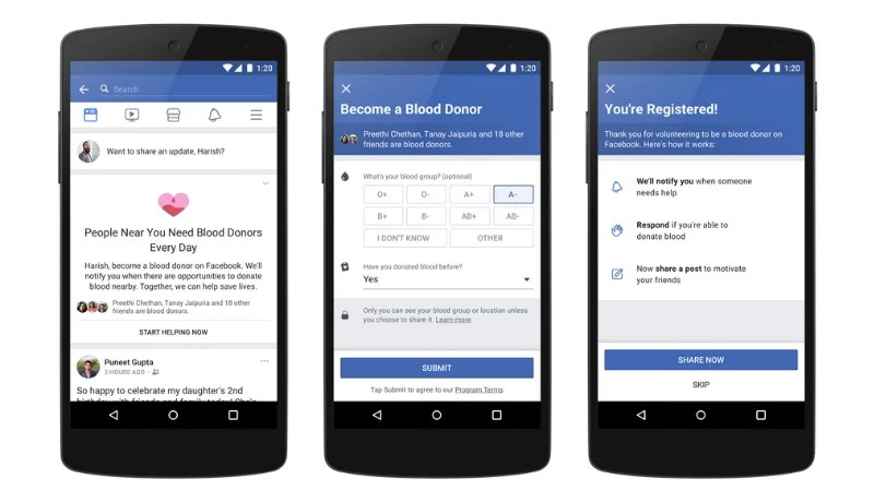 facebook f8 2018 blood donors