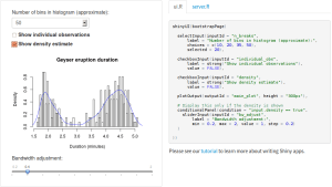 shiny @rstudio: a nice analytical webapp