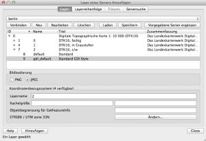 WMS Server Berlin