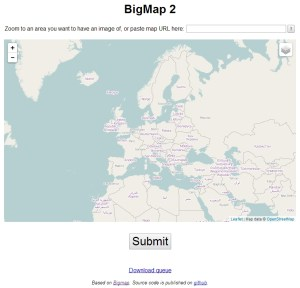 Start page of http://bigmap.osmz.ru/