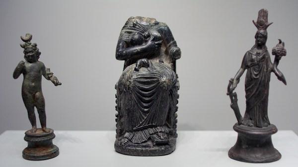 Sculptures Of Getty Villa