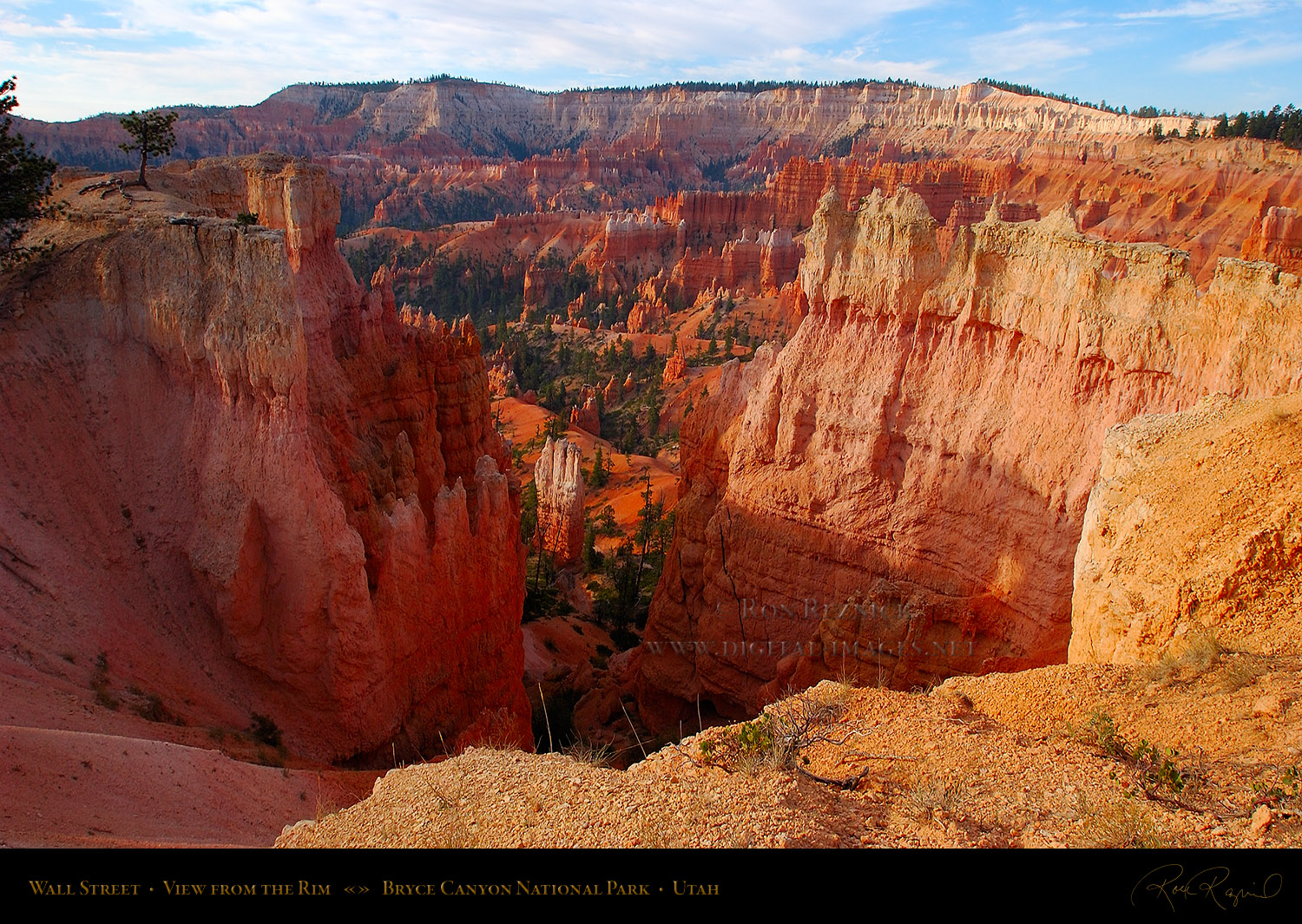 Inspiration Point and Rim Views Bryce Canyon